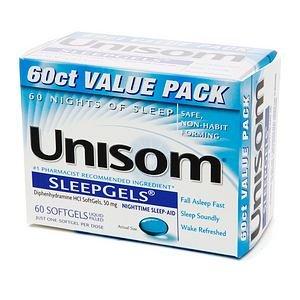 Unisom Sleep Gels 60ct Size 60 Unisom Sleep Gels 60ct