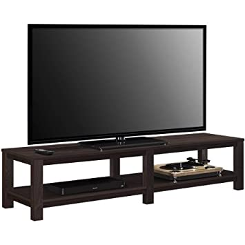 Amazon Com Mainstay Parsons Tv Stand For Tvs Up To 65 Brown