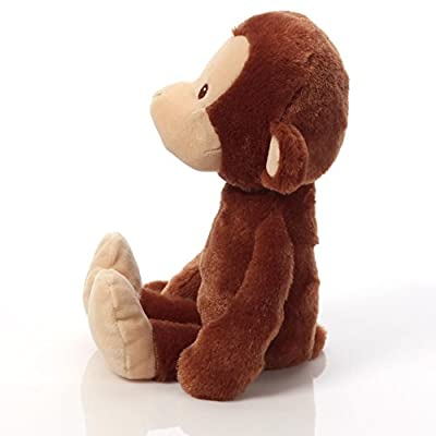 GUND Baby Nicky Noodle Monkey Stuffed Animal: Toys & Games