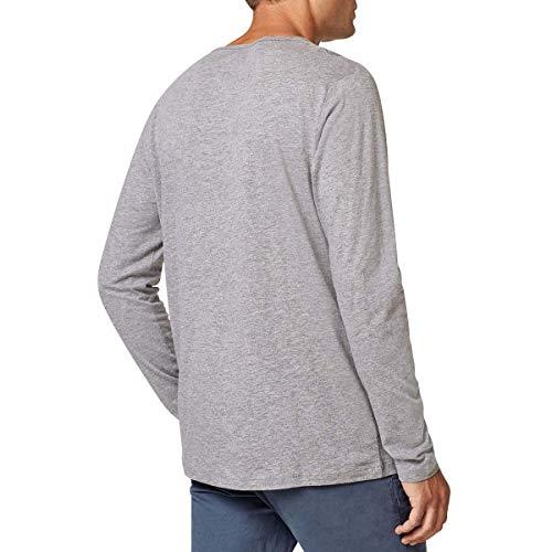 Manches Gris à edc Esprit Chine Shirt T by Longues Homme wAAXaqHxS for  metal.barcosblindados.com 7eb2db981e18