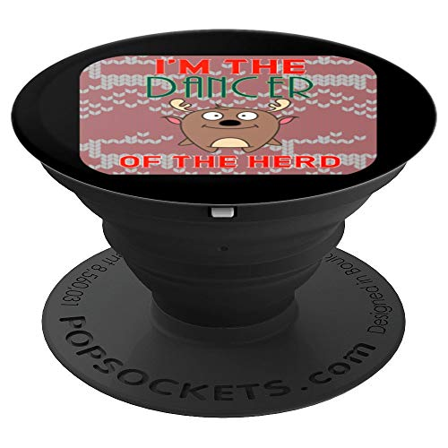 Dancer Christmas Family Matching Reindeer PopSockets Grip and Stand for Phones and Tablets ()