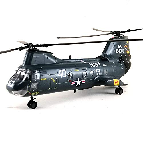 CH-46 Sea Knight US Navy Helicopter 1/72 Aircraft Model Collection Collectible Toy Hobby Assembled Mode