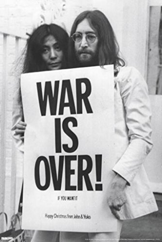 Pyramid America John Lennon War Is Over Poster 24x36 inch