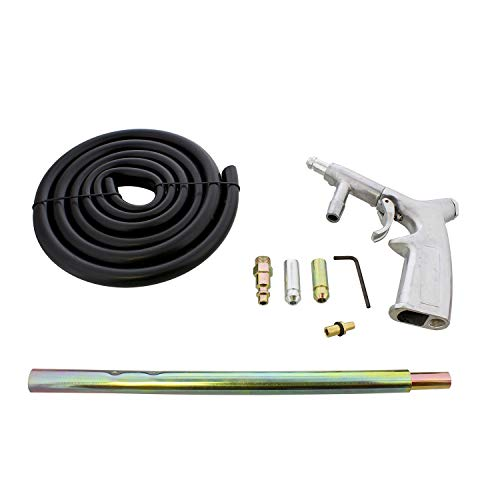 ABN Sandblaster Gun Kit - 7 Piece Pressure Washer Sandblasting Kit - Handheld Portable Sandblaster Kit