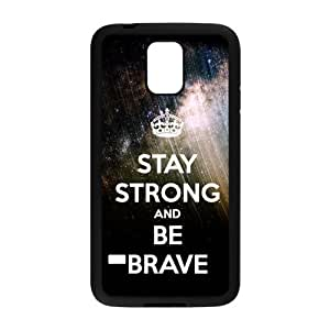 Nymeria 19 Customized Stay Strong Diy Design For Samsung Galaxy S5 Hard Back Cover Case DE-40
