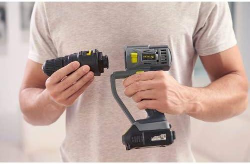 240/V 26/pi/èces Genius a11245/rovus Rocket Fix Batterie outil multifonction avec accessoire Lot de per/çage Scie Couper Vis n/œuds cafards polir