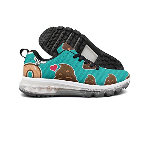 Euuair Divertido Caca Emoji Zapatos Del Amortiguador De Aire De La Aptitud De Las Mujeres Zapatillas De Deporte Corrientes Ocasionales Caminar Precio barato de envío gratis dWyOLvW7