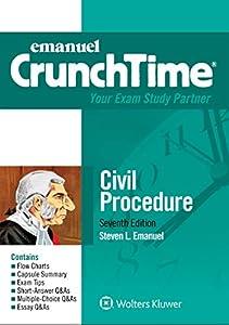 Emanuel CrunchTime for Civil Procedure (Emanuel CrunchTime Series)