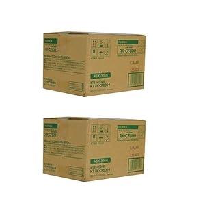Fujifilm 2 Pack 4x6 Dye-Sub Media for ASK-300 (800 Prints)