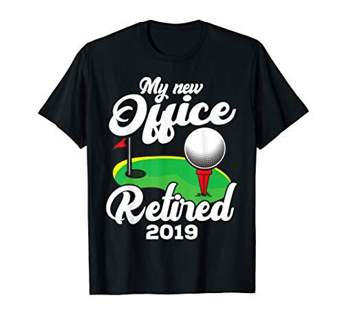 Funny Retired 2019 Golf Retirement Plan Gag Gift Golfers T-Shirt