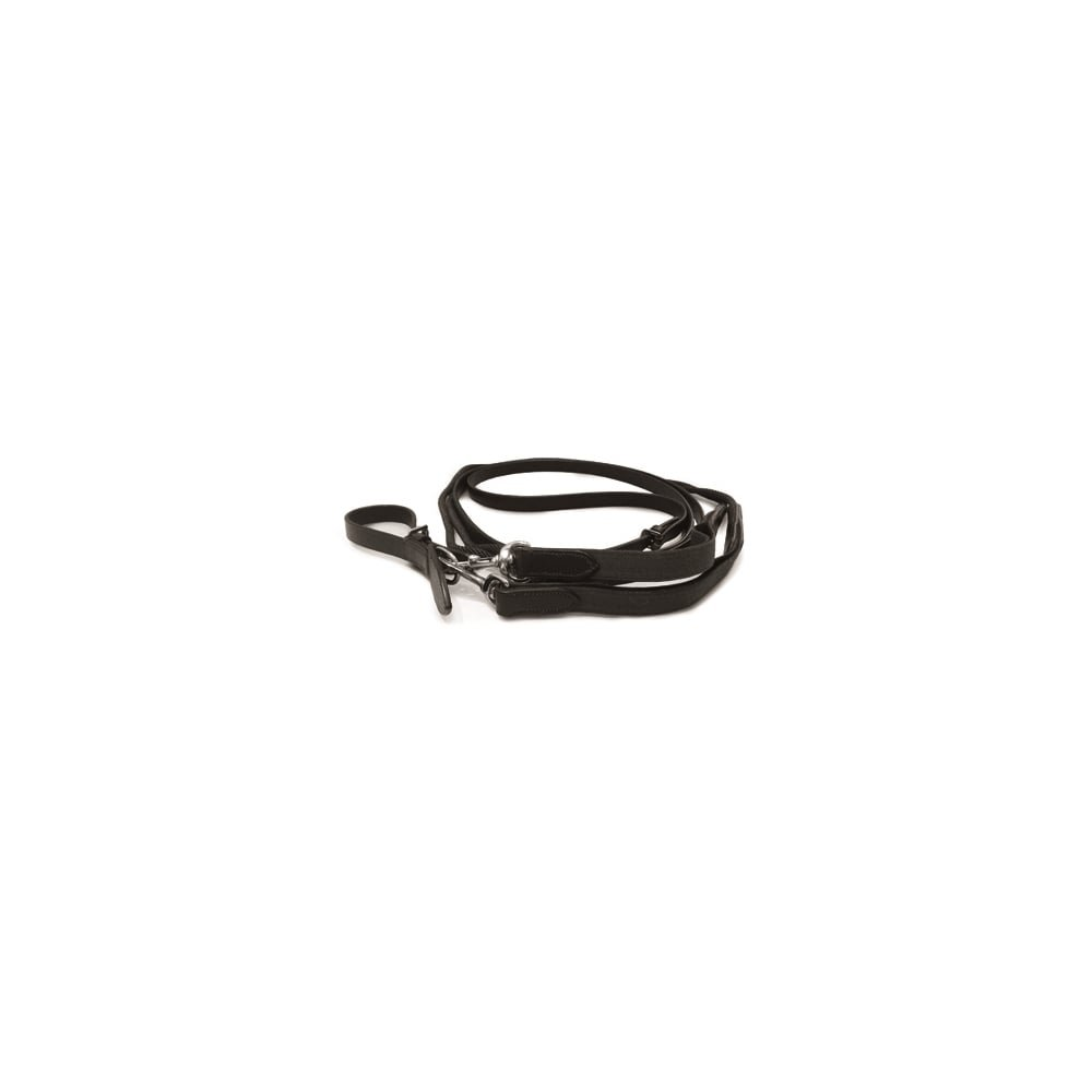 Brown One Size Brown One Size Mark Todd Leather Rope Draw Reins With Elastic