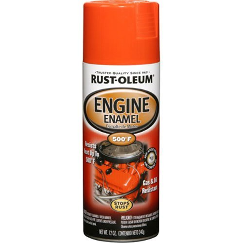 - Rust-Oleum 248941 Engine Enamel, Chevy Orange, 12 oz, Spray Automotive Accessories, 12-Ounce,