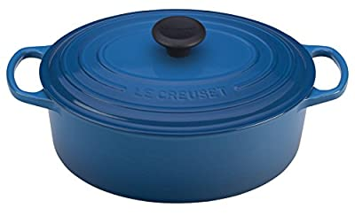 Le Creuset of America Enameled Cast Iron Signature Oval Dutch Oven