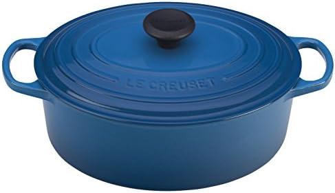 Le Creuset of America Enameled Cast Iron Signature Oval Dutch Oven, 8 quart, Marseille