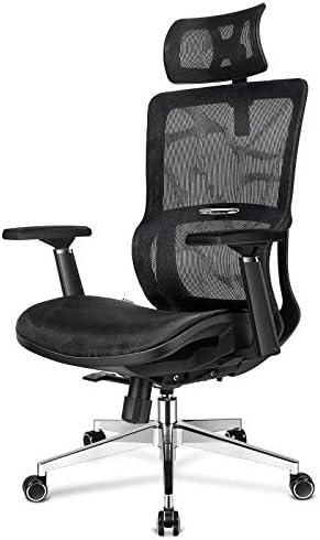 mfavour Office Chair Ergonomic Mesh Chair High Back Mesh Office Chair Computer Chair Desk Chair Mesh Back Seat Tilt Function