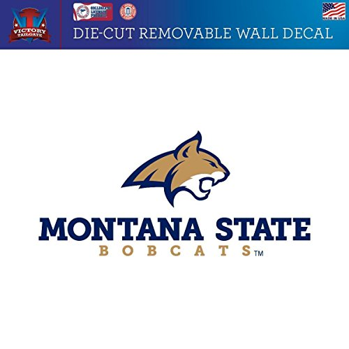 Victory Tailgate Montana State University Fighting Bobcats Removable Wall Decal (Approx 12x12)