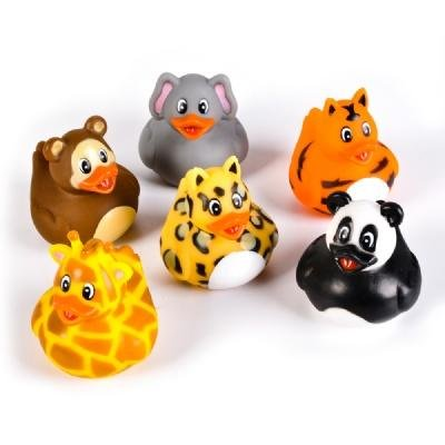 2 inch Animal Rubber Duckies Ducks