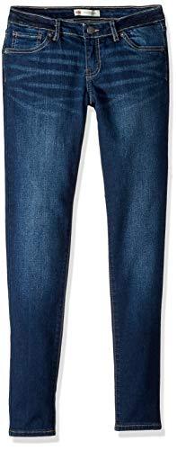 Levi's Girls' Big 710 Skinny Fit Jeans, Atomic, 14