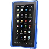 7 Android Tablet Android 4.4 1024x600 Quad Core 512MB RAM 8GB ROM (Blue)