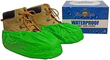 Dark Blue 40 Pair ShuBee Waterproof Shoe Covers
