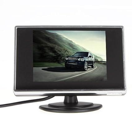 BW É cran LCD couleur de camé ra de recul et 3, 5 pouces BW Corp BW35PM-2