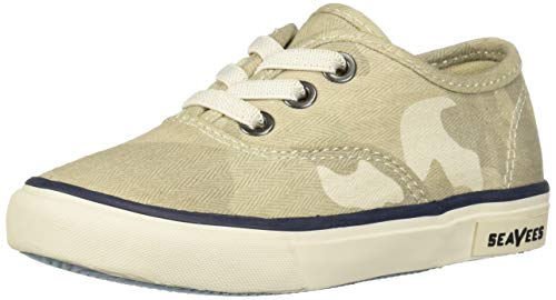 (SeaVees Baby Kids Legend Sneaker Saltwash, Cream Camouflage, 10C M US Toddler)