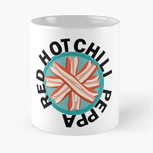 Peppa Red Hot Chili Bacon Food - Handmade Funny 11oz Mug Best Birthday Gifts For Men Women Friends Work Great Holidays Day Gift -