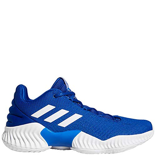 Low White Casual Shoes - adidas Pro Bounce 2018 Low Shoe Men's Basketball 10.5 Collegiate Royal-White