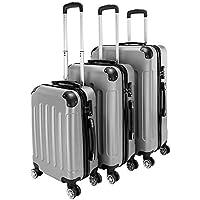 Teeker 3-Piece ABS Travel Luggage Set
