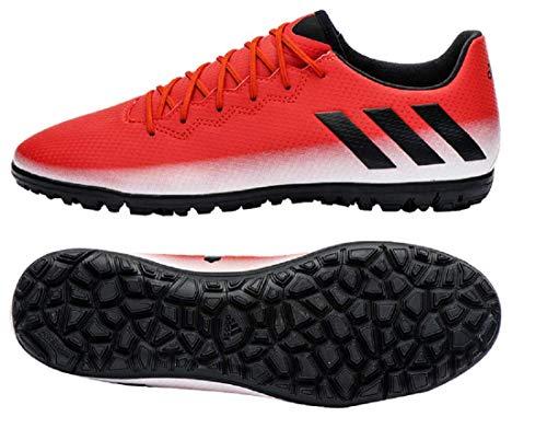 相続人衝動納税者アディダス(adidas) ターフコート用 サッカー トレーニングシューズ 25.0cm メッシ MESSI 16.3 TF 国内正規品 BA9014 レッド