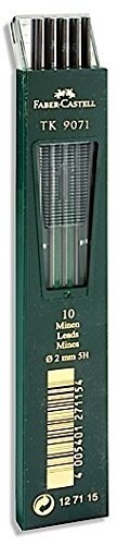 Faber-Castell TK 9400 Clutch Drawing Pencil Leads (5H) 2 pcs sku# 1828858MA by Faber-Castell (Image #1)