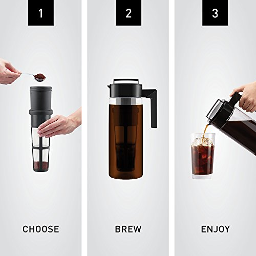 takeya cold brew coffee maker instructions