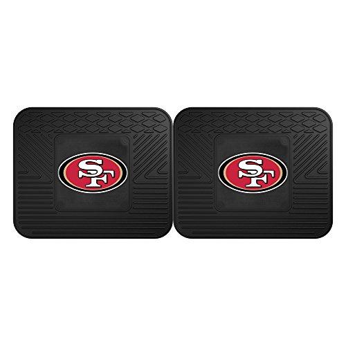 (FANMATS 12358 NFL - San Francisco 49ers Utility Mat - 2 Piece)