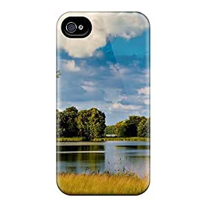 Hot Tpu Cover Case For Iphone/ 4/4s Case Cover Skin - Pure River by Maris's Diary