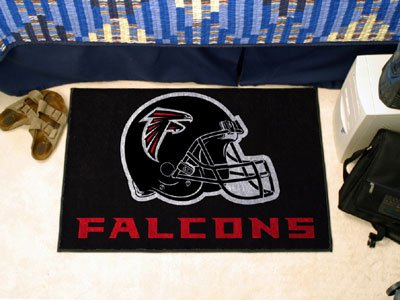 Fan Mats Atlanta Falcons Helmet Starter Rug, 20