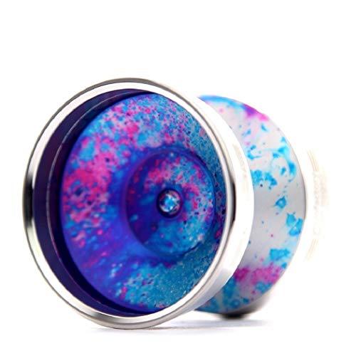 YoYoFactory Edge Beyond by Evan Nagao Yoyo Color Galaxy with Silver Rims by YoYoFactory (Image #2)