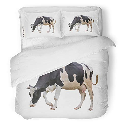 Used, Semtomn Decor Duvet Cover Set King Size Cow Young Heifer for sale  Delivered anywhere in USA