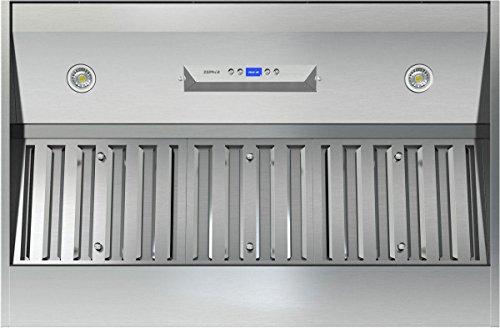 Liner 600 Cfm Stainless Steel - Essentials Monsoon DCBL 715 CFM Range Hood Liner in Stainless Steel