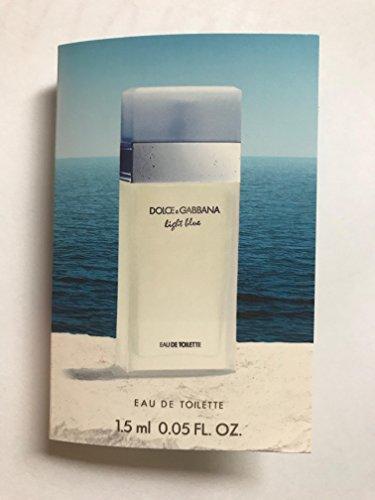 Dolce & Gabanna 0.05 Glass vial sample Men's EDT Light Blue