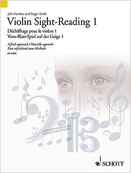 Book VIOLIN SIGHT-READINGVOLUME 1 (Pt. 1)