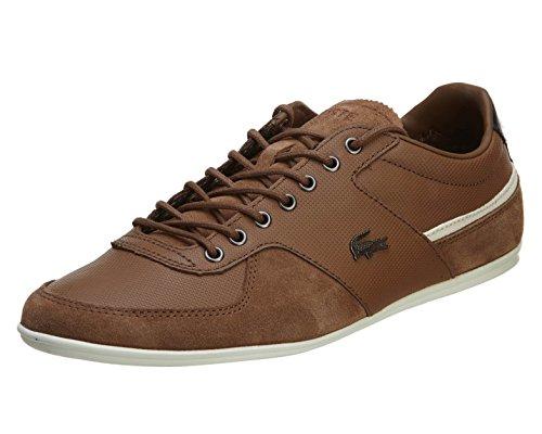 Lacoste Men's Taloire 16 Fashion Sneaker, Tan, 12 M US