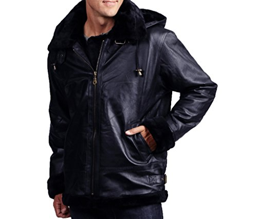 menss-genuine-leather-shearling-bomber-with-detachable-hood-color-navy