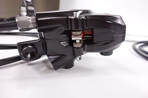 JGbike Shimano M315 MTB Hydraulic Disc Brake Set,Mountain Bike Brakes,Left for Rear - EU Model