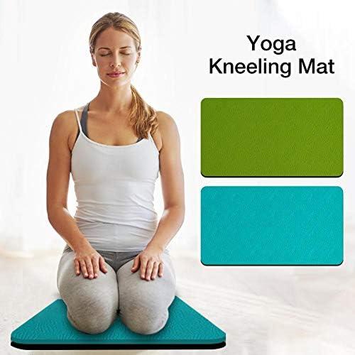 chlius Yoga Kissen Pad Fitness Kniekissen Garten Kniend Matte Für Knie Hände Handgelenke Ellbogen Workout Gartenarbeit Badewanne - Zufällige Farbe