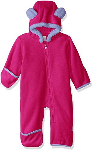 (Columbia Unisex Baby Infant Tiny Bear II Bunting, Cactus Pink, 12/18)