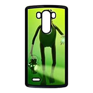 LG G3 Cell Phone Case Black MUPPETS KERMIT PIGGY FUN Oaur