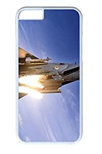 iphone 6 4.7inch Case and Cover F15 Fighter PC case Cover for iphone 6 4.7inch White