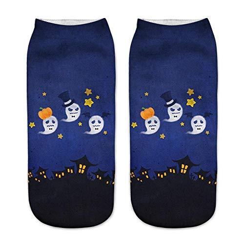 Baby Air Freshener Halloween Costume (Women Halloween 3D Ankle Socks Pumpkin Skull Print Animal Short Socks Party Cosplay Costume Halloween Funny Socks for Girls Infant Boys Baby Sport Compression Ankle)