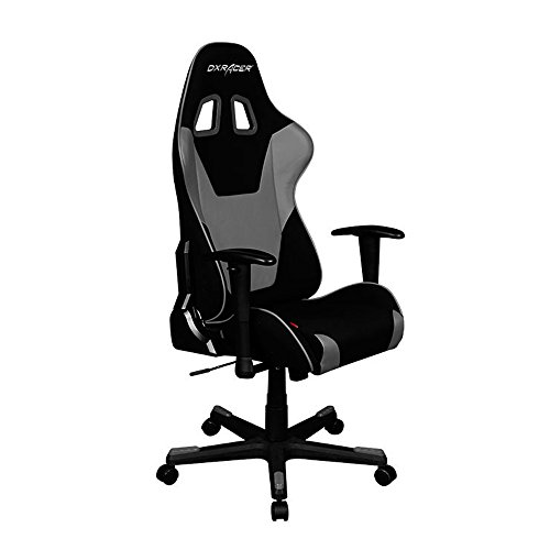 DXRacer Formula Series DOH/FD101/NG Newedge Edition Office Chair Gaming Chair Ergonomic Computer Chair eSports Desk Chair Executive Chair Furniture With Pillows (Black/Grey) DXRACER USA LLC