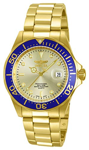 Invicta Men's 14124 Pro Diver Gold Dial